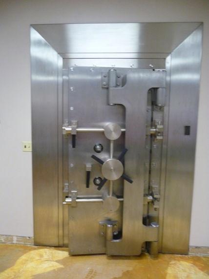 Diebold Vault Door From National Bank Professionally