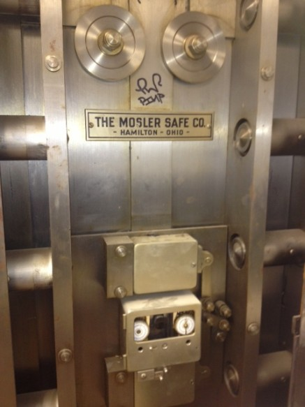 Mosler Vault Door For Sale