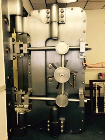 Vintage Mosler Vault Door Bank Equipment Dot Com Free