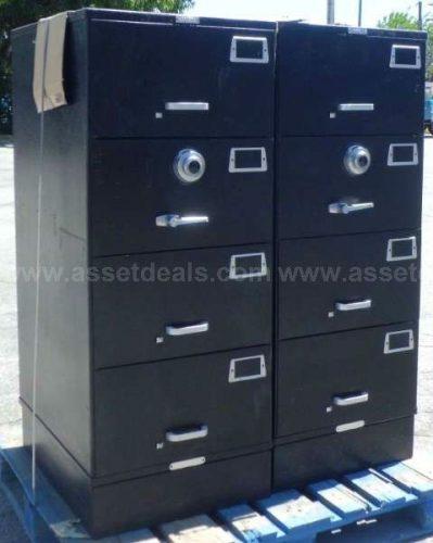 1) Mosler 4-Drawer Safe / Container GSA - Bank Equipment DOT