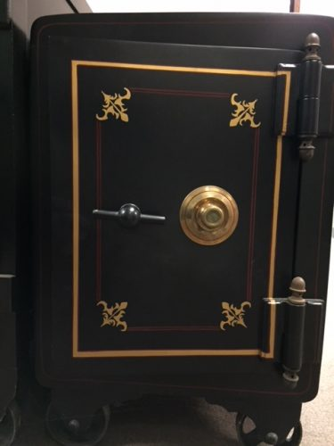 Unique Circa 1860s Antique Mosler Safe - Bank Equipment DOT Com FREE